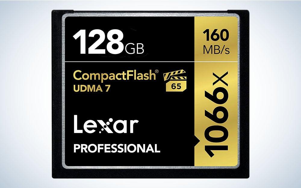 Lexar Professional CompactFlash card
