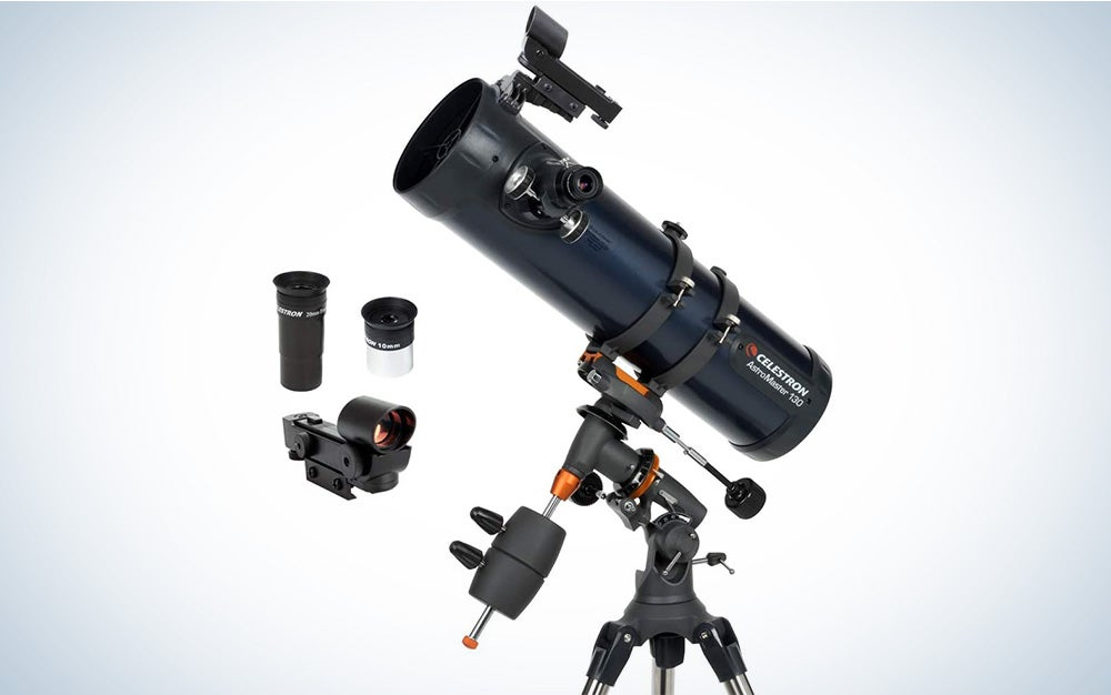 Celestron Astromaster 130EQ is the best telescope for astrphotography