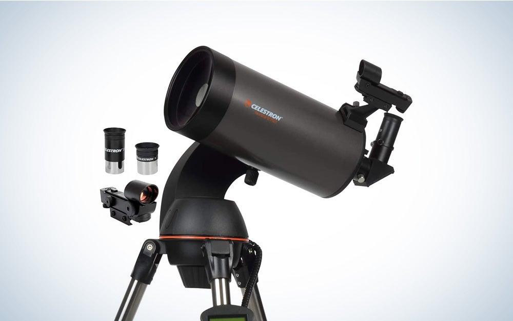 portable Celestron telescope