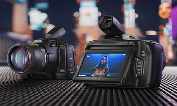 The new Blackmagic Design 6K Pro camera has a huge, tilting screen for easier composition