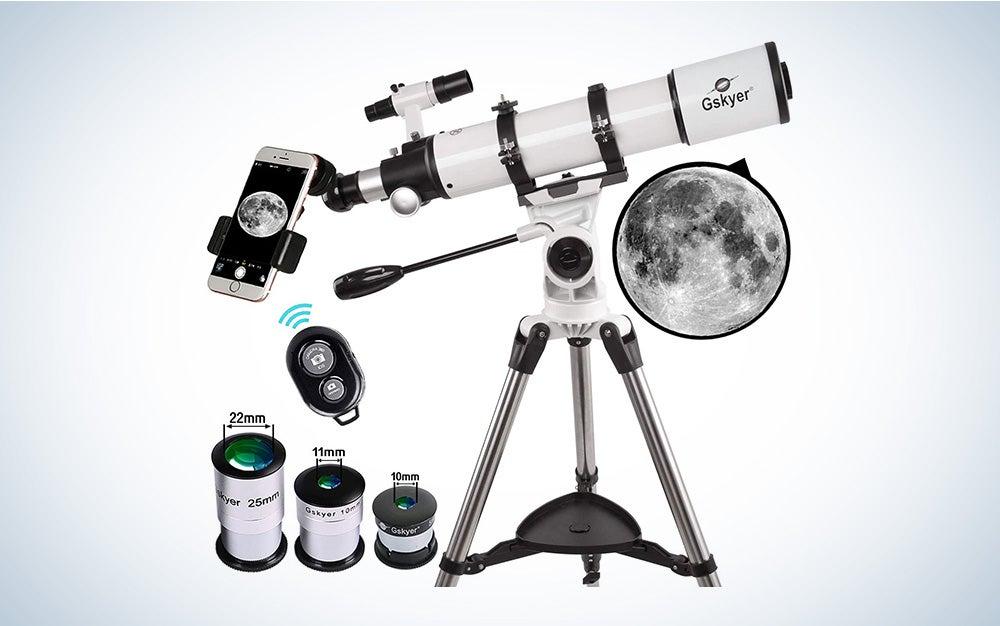 Gskyer Telescope, 600x90mm Refractor Telescope