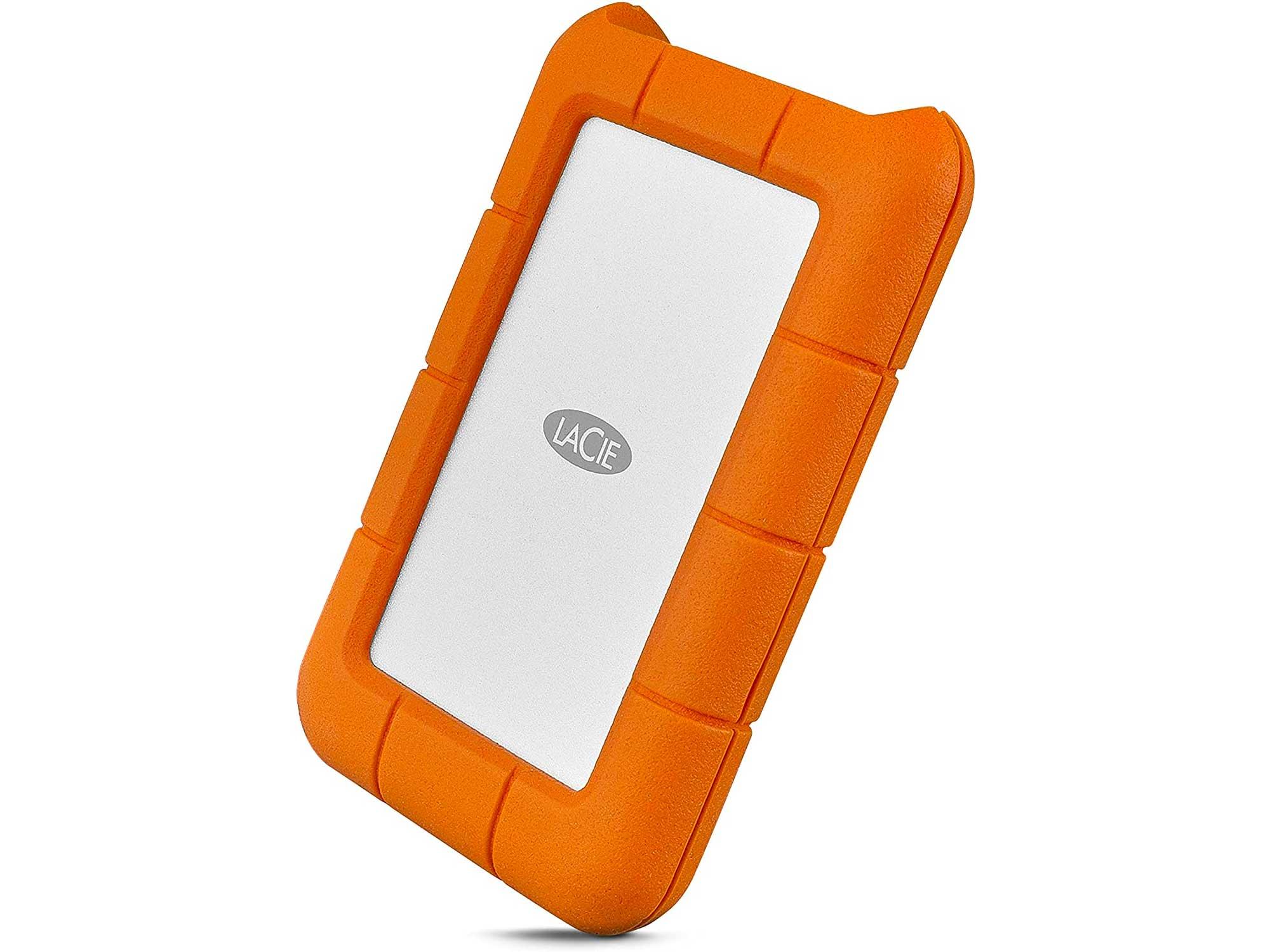 LaCie Rugged USB-C 5TB External Hard Drive