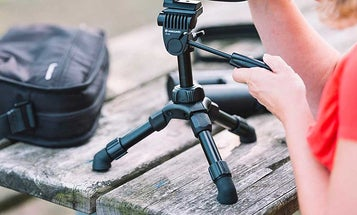 Tabletop tripods for consistently steady shots