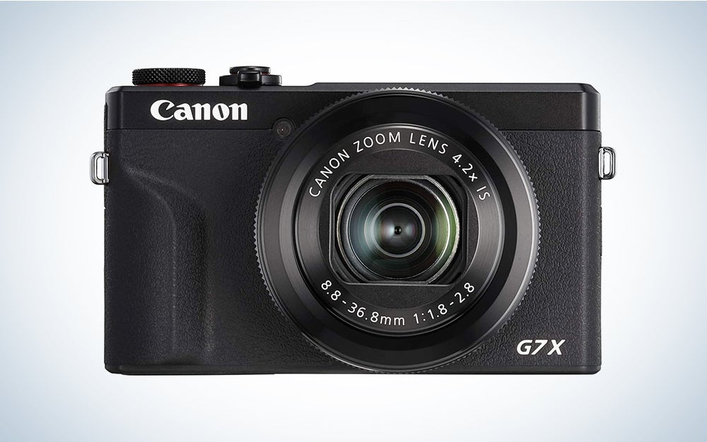Canon PowerShot G7X Mark III is the best vlogging camera for YouTube