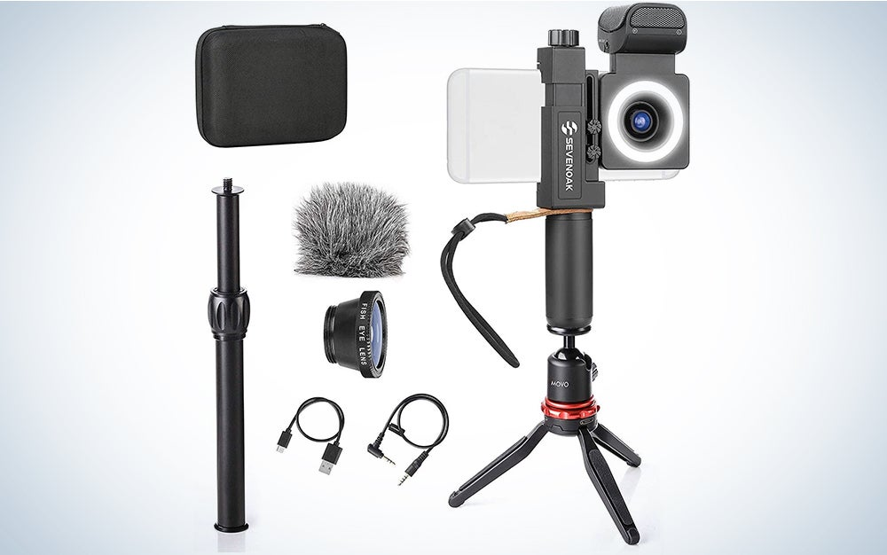 Movo SmartCine Smartphone Video Kit Tripod Bundle
