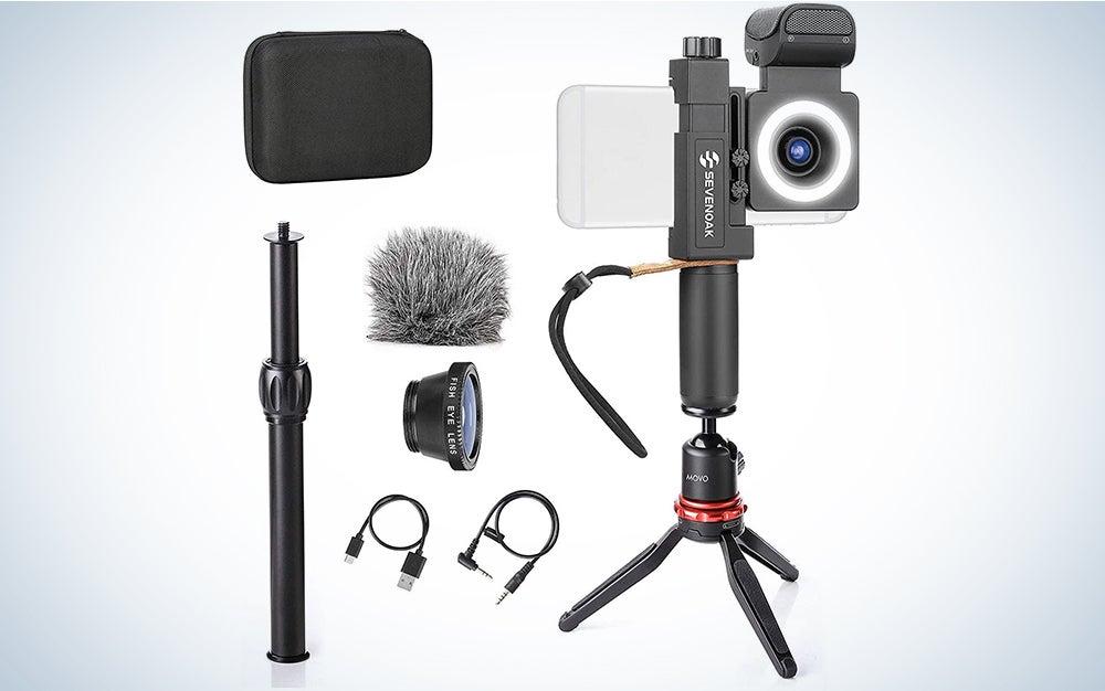 Movo SmartCine Smartphone Video Kit Tripod Bundle