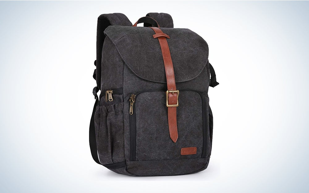 BAGSMART Camera Backpack, Anti-Theft Camera Bag