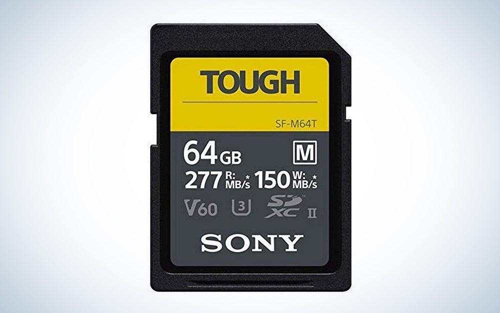 Sony TOUGH-M series SDXC UHS-II Card