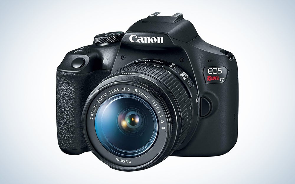 Canon EOS Rebel T7 DSLR Camera is the best camera for streaming