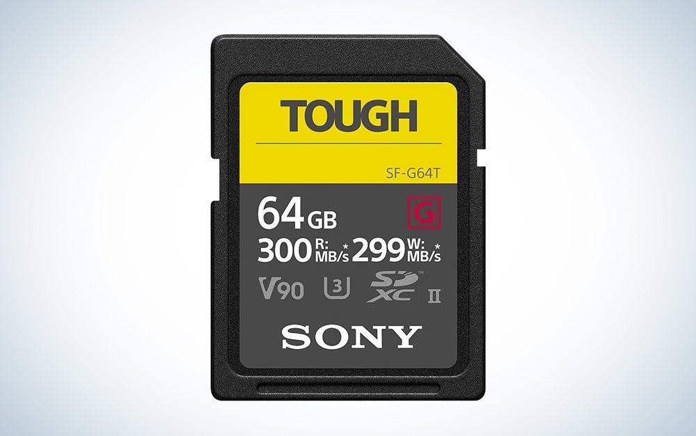 Sony TOUGH-G series SDXC UHS-II Card 64GB