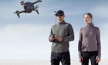 DJI's new FPV drone allows operators to capture footage from a first-person view