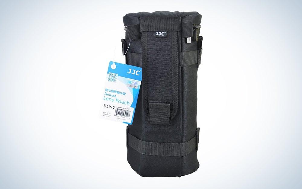 JJC DLP-7 Deluxe Water-Resistant Lens Pouch Case