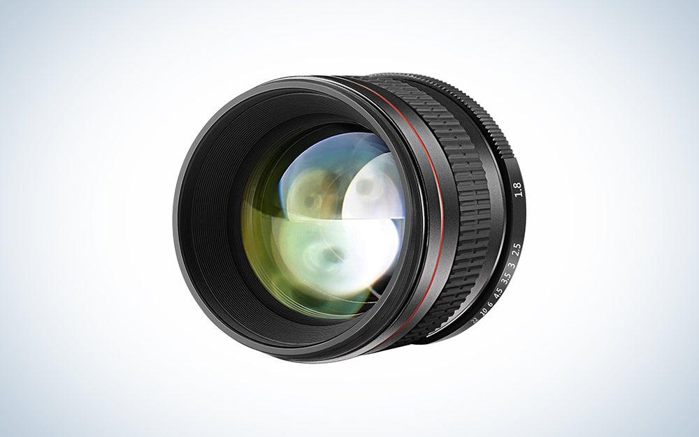 budget neewer black nikon lens for portraits