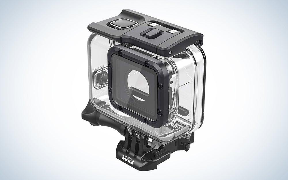 a clear gopro case is the best waterproof camera case