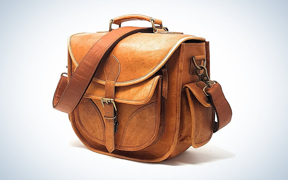 brown leather bag for Mother's Day