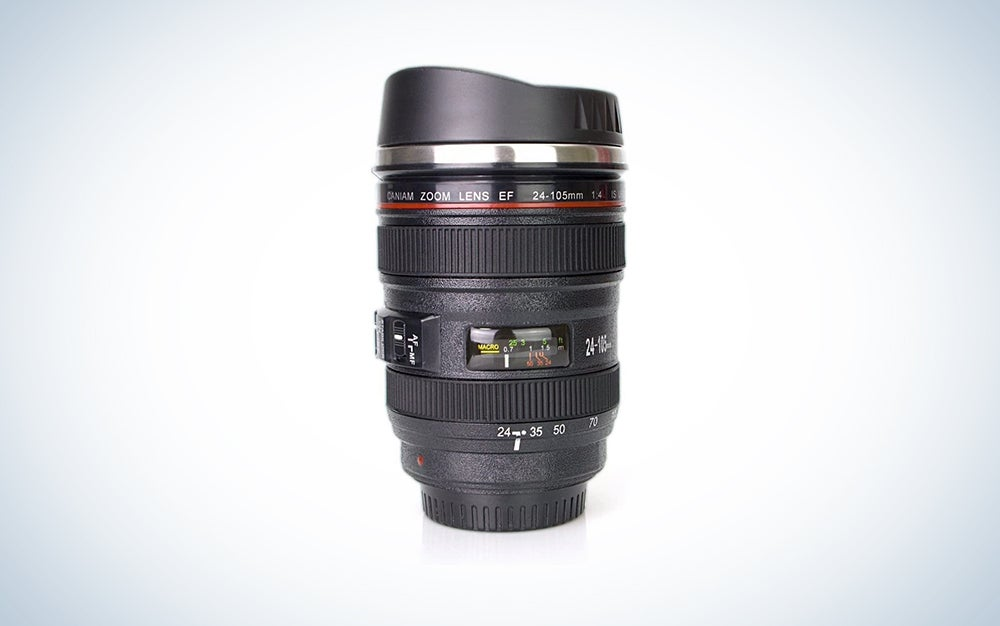 camera lens coffee mug is a great Mother's Day gift