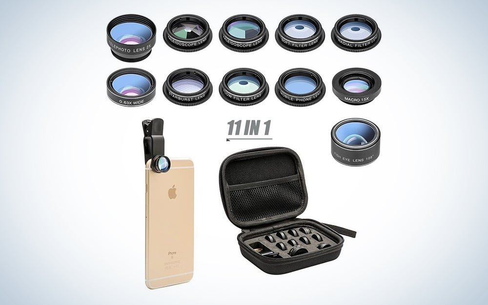 camera phone lenses for Mother's Day