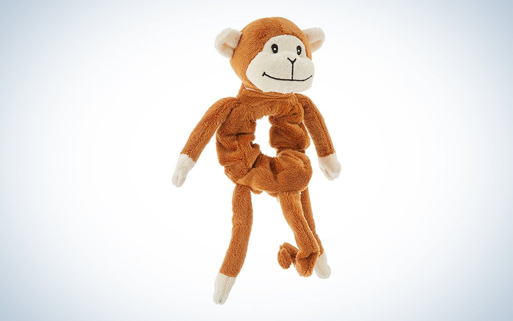 brown monkey doll is one of the best gifts for moms with young kids