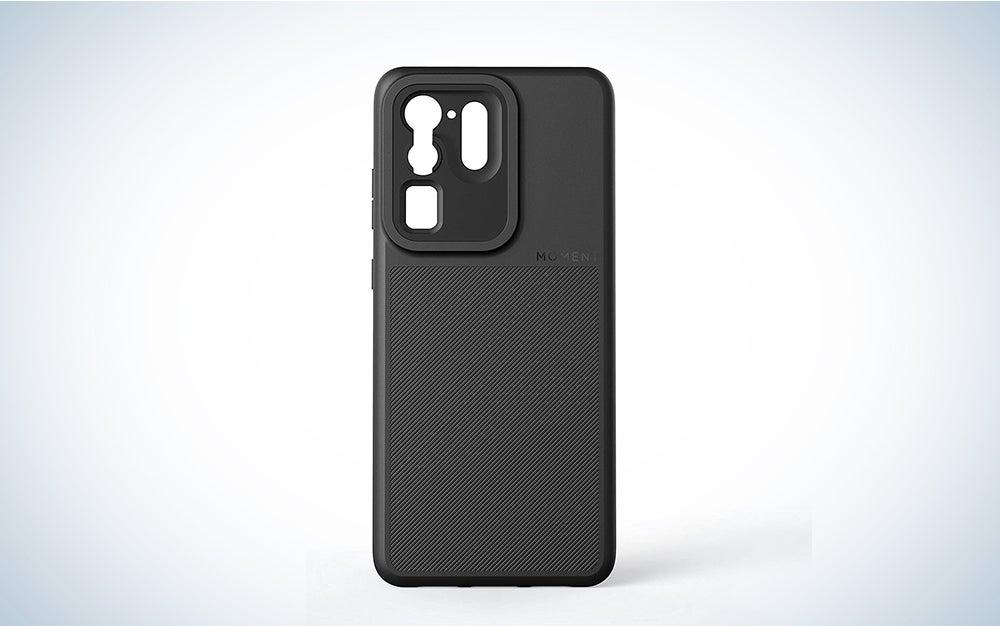 black moment external lens case