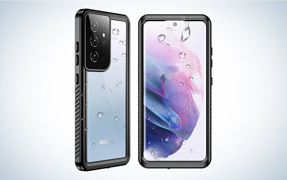 waterproof clear android phone case