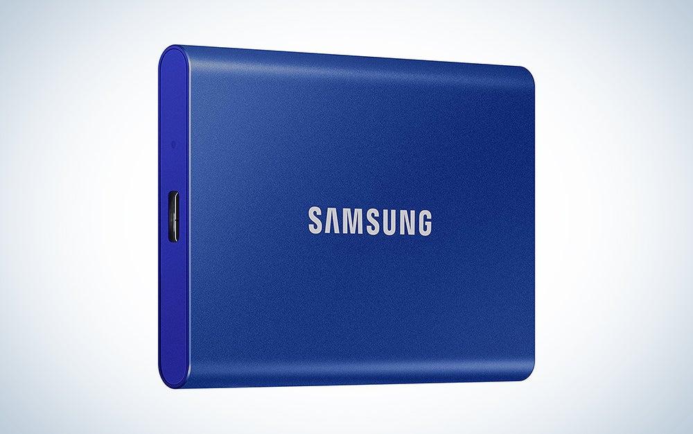 samsung blue ssd hard drive