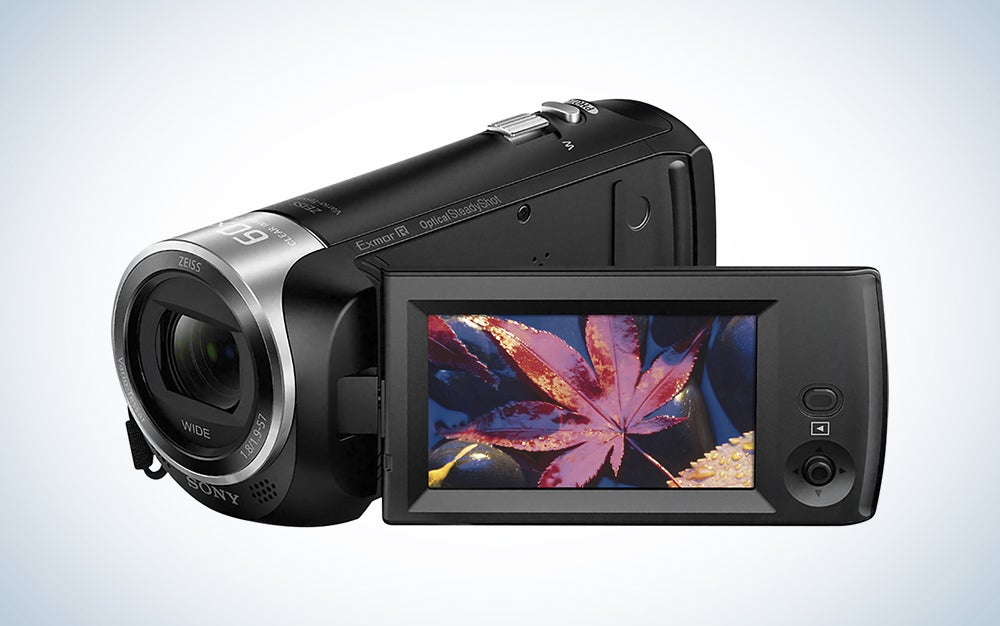 sony budget camcorder