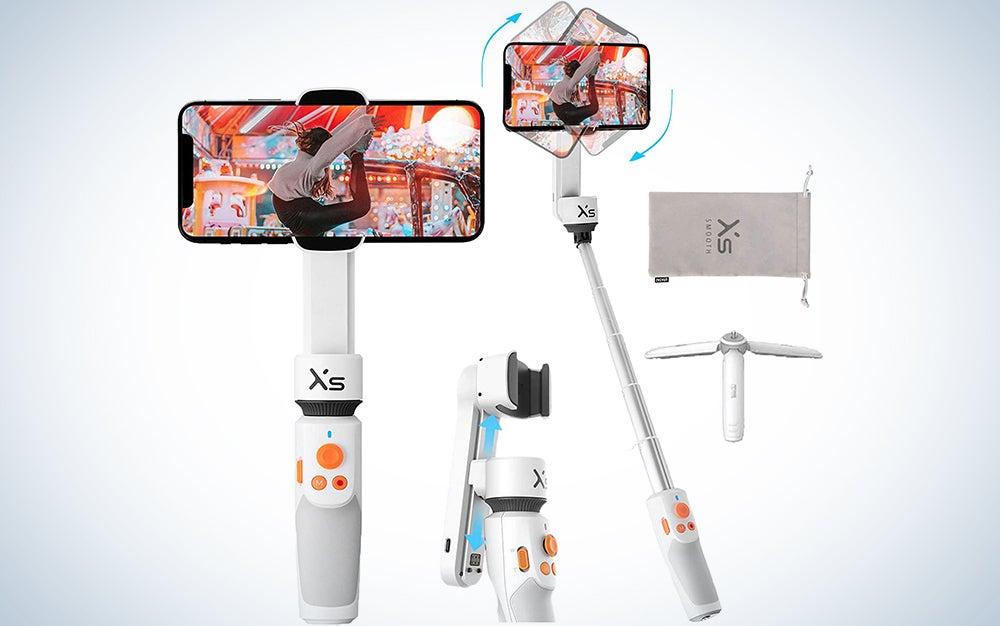 stabilizing selfie stick