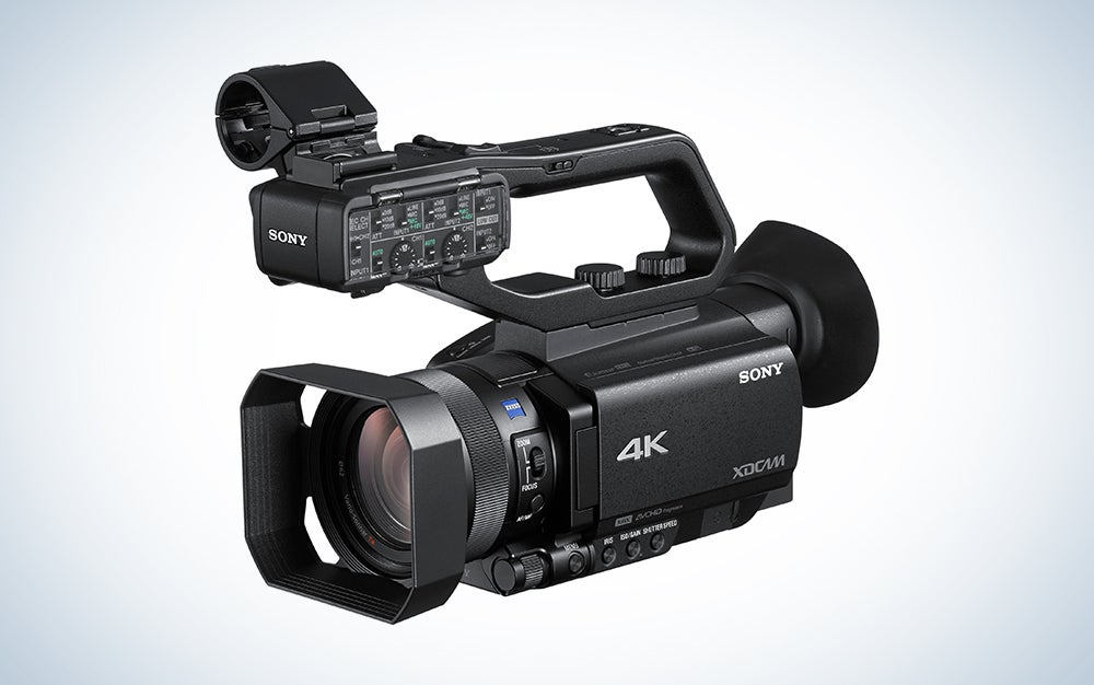 sony filmmaking camcorder