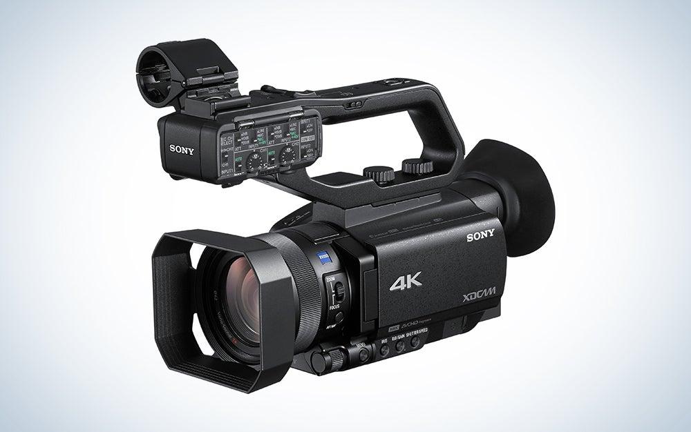 sony filmmaking camcorder