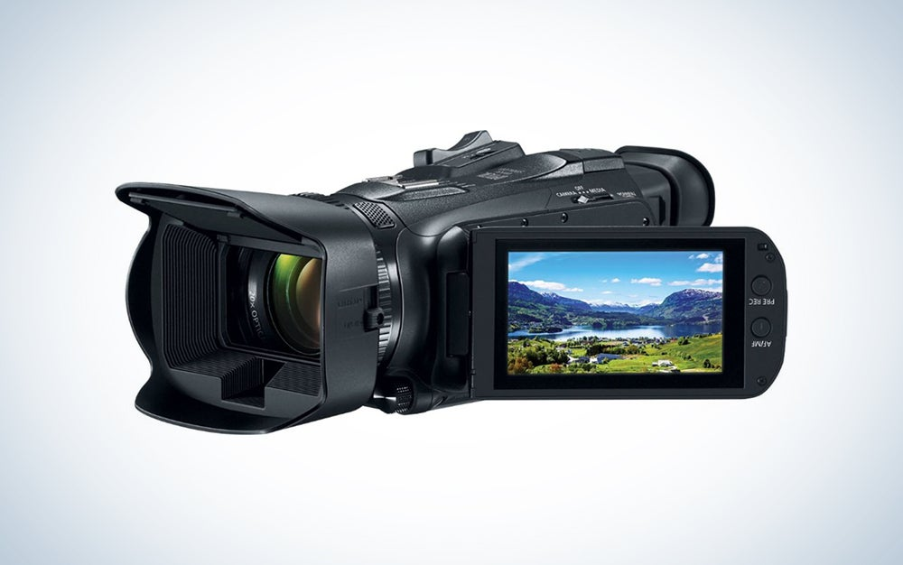 canon beginner video camcorder