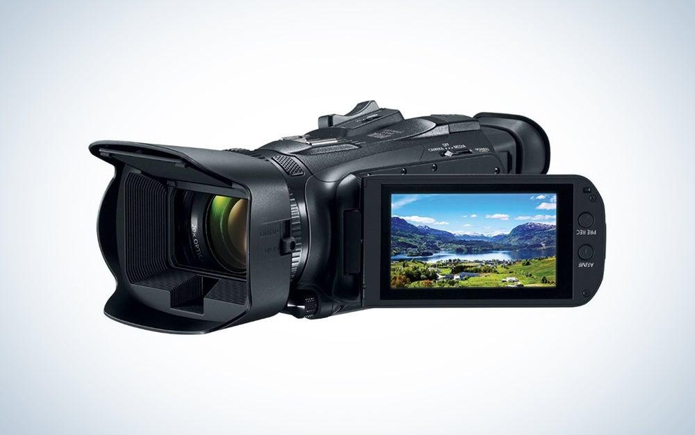 canon beginner video camcorder