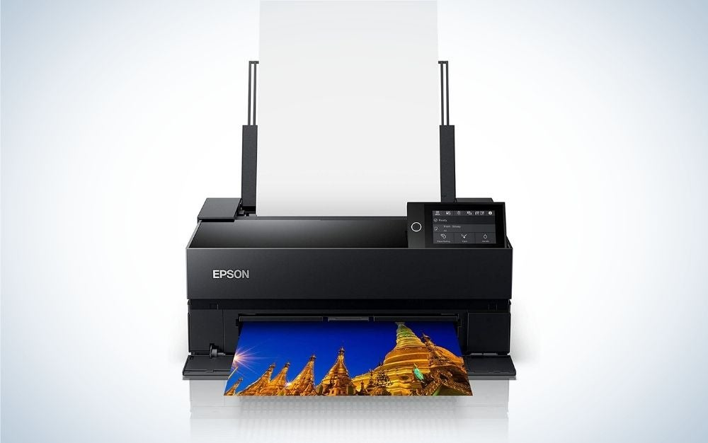 Bring digital photos to life with this high-quality printer.