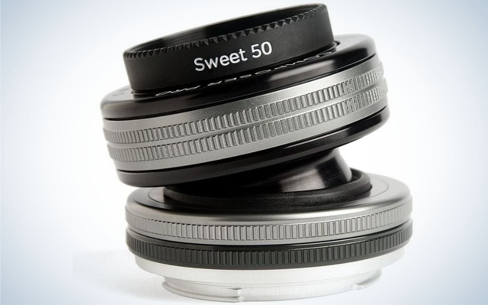 Sweet 50 black ang grey rounded lens.
