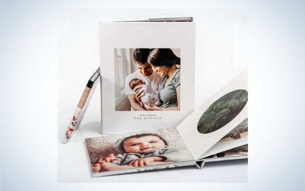 Three hardcover, family photography books are great Father's Day gifts.