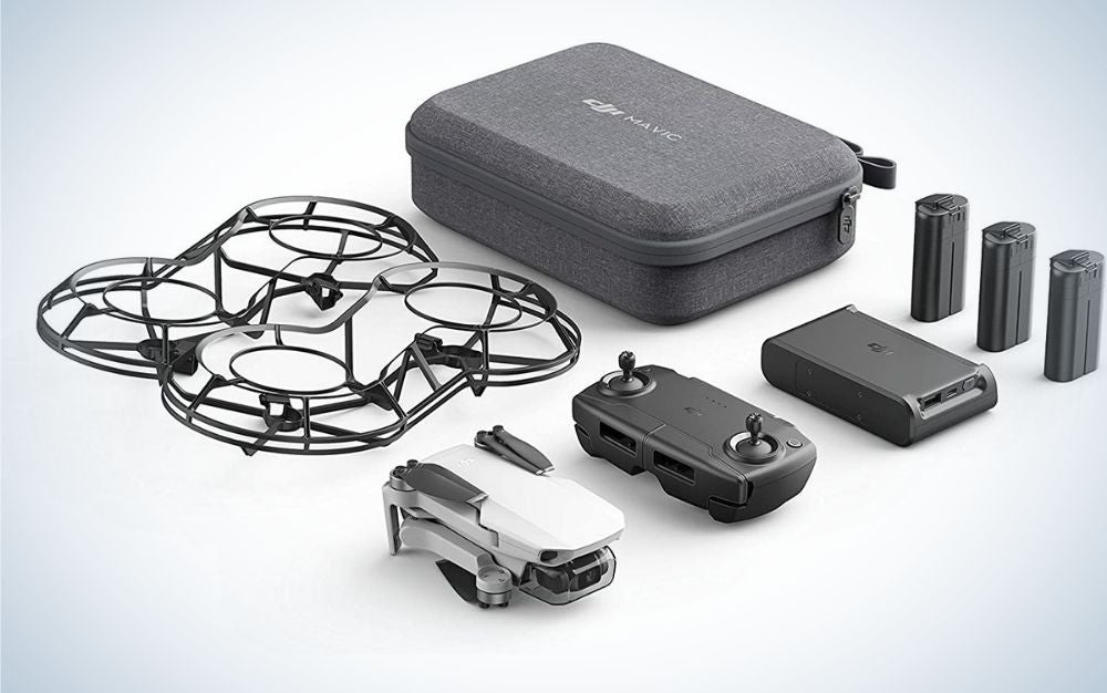DJI Mavic mini drone with accessories for Father's Day