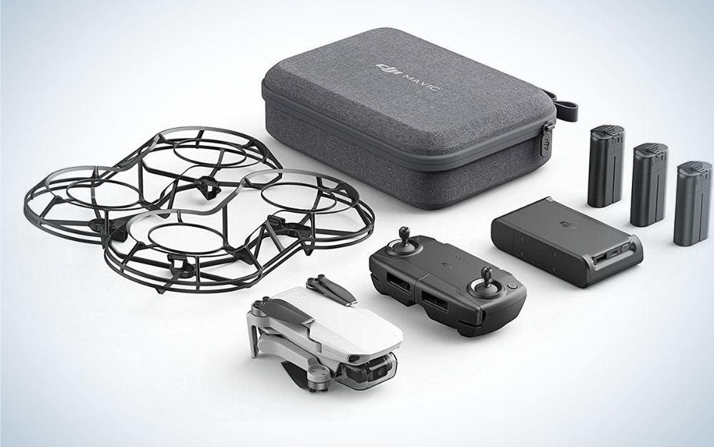 DJI Mavic mini drone with accessories for Father's Day