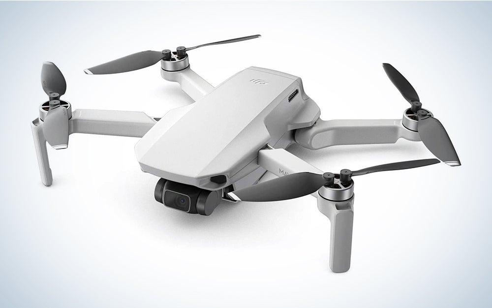 white dji mavic drone
