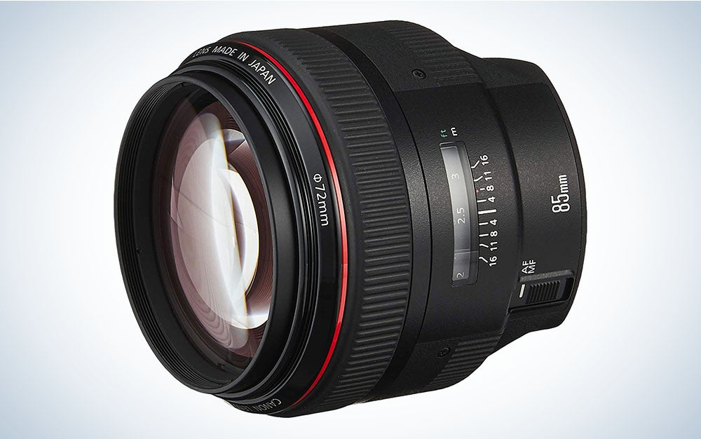The Canon EF 85mm f/1.2L II USM is the best portrait lens.