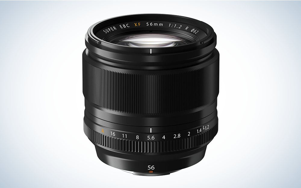 The Fujifilm XF 56mm F/1.2 lens is the best Fuji lens for portraits.