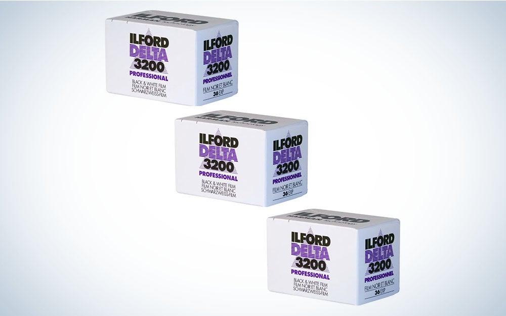 Ilford DELTA 3200 black and white film