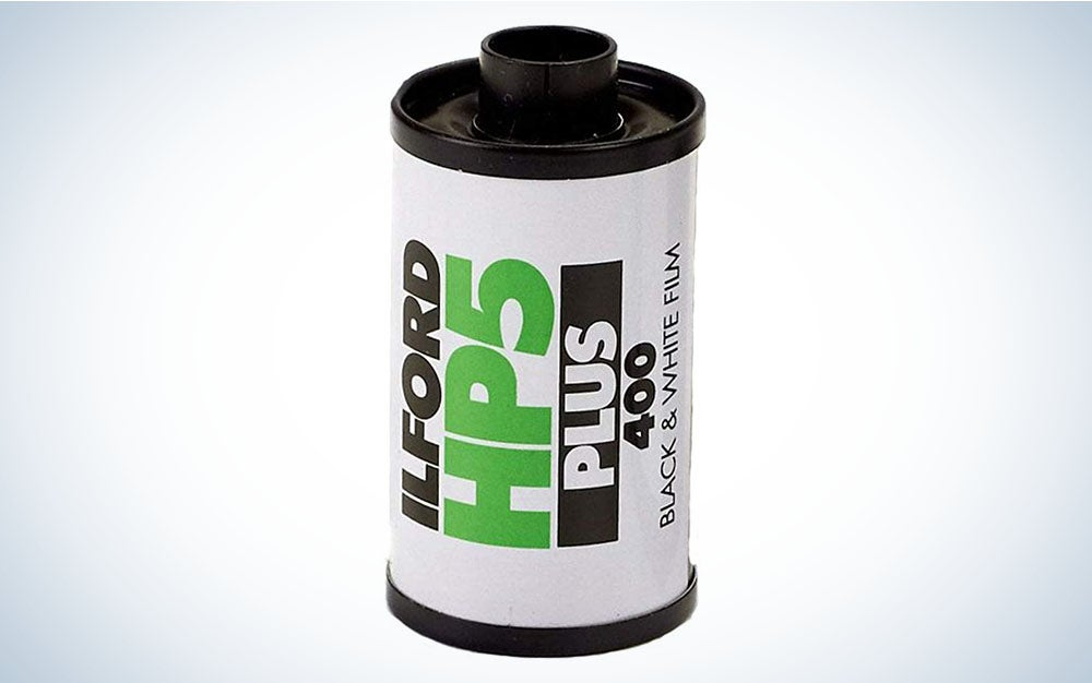 Ilford HP5+ 35 mm black and white film