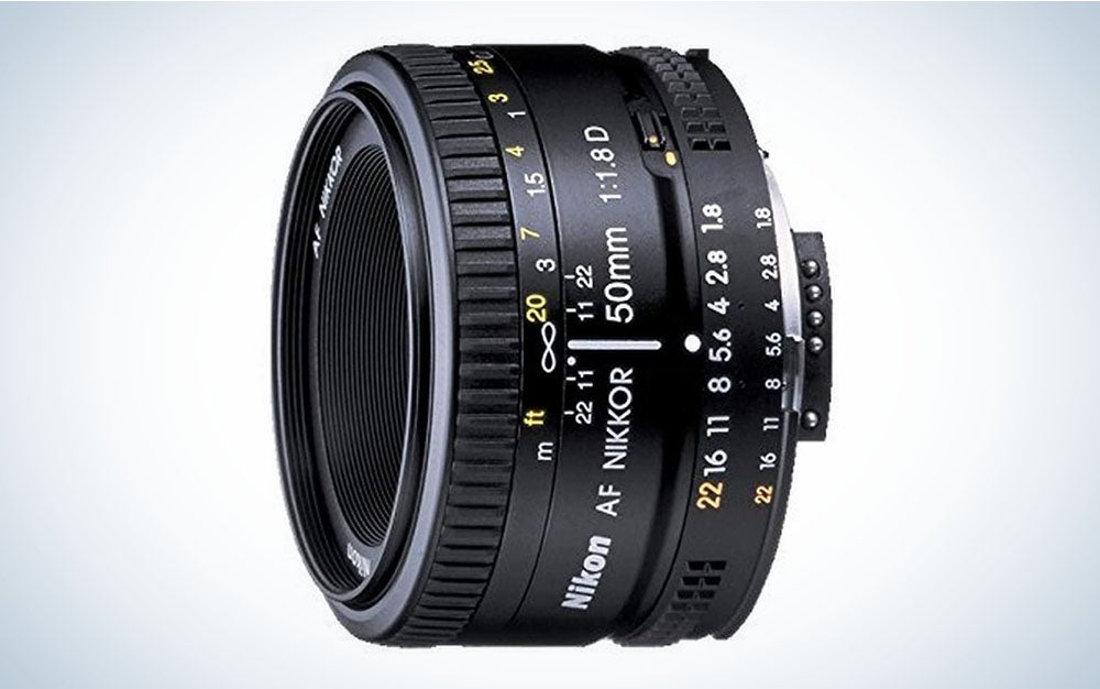 The Nikon 50mm f/1.8D is the best bargain lens.