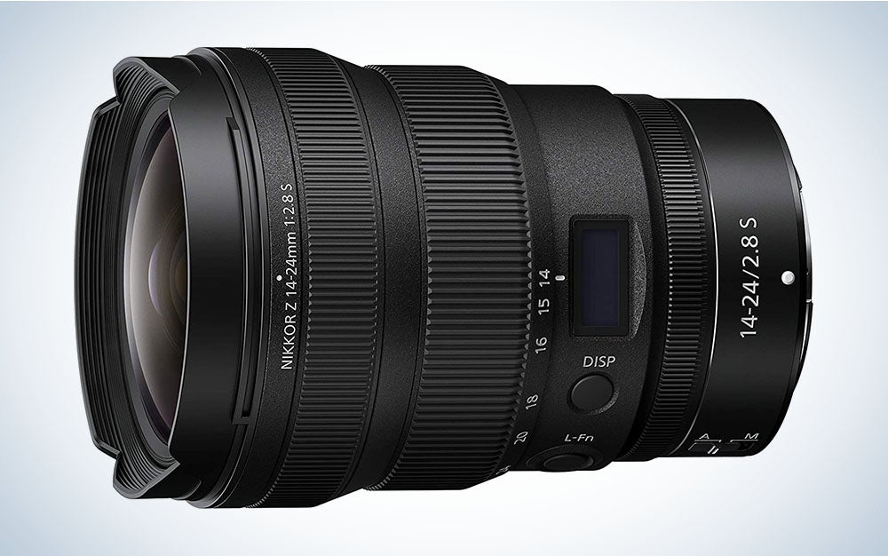The Nikon Z 14-24mm f/2.8 S is the best wide-angle lens for landscapes.