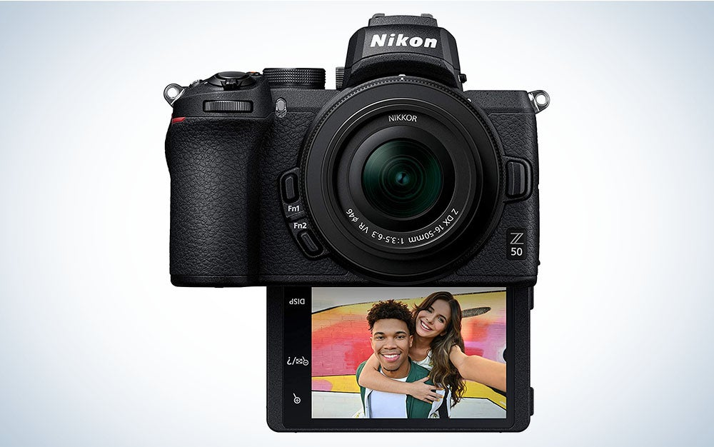 The Nikon Z 50 is the best entry-level Nikon mirrorless camera.