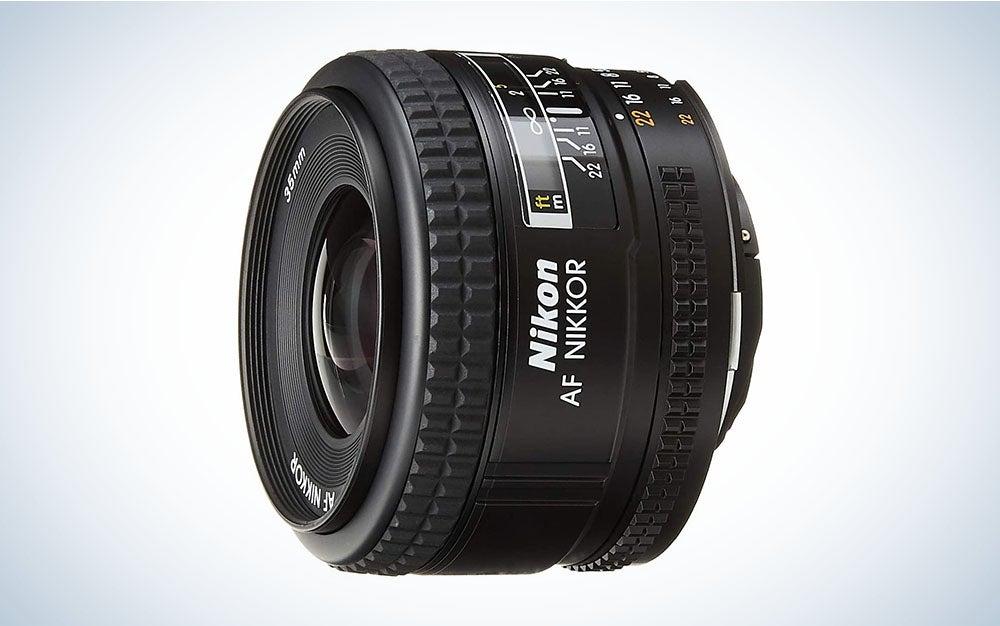 The Nikon AF NIKKOR 35mm f/2D is the best lens for street photography.