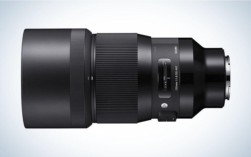 Sigma telephoto lens