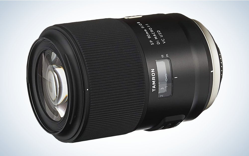 The Tamron 90mm f/2.8 Di VC USD is the best macro lens.