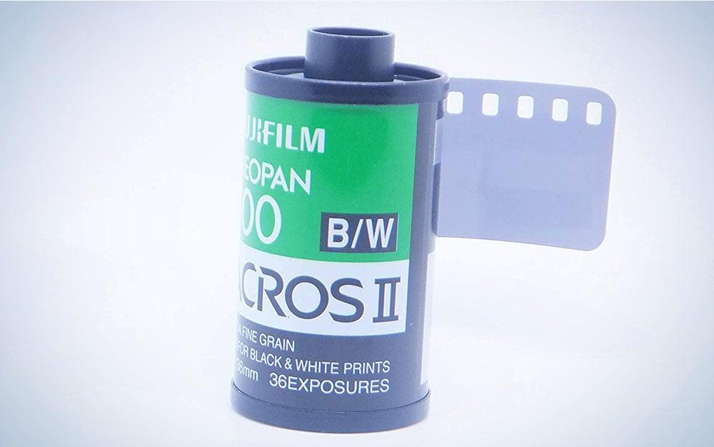 Roll of Fuji Neopan Acros 100 II black and white film