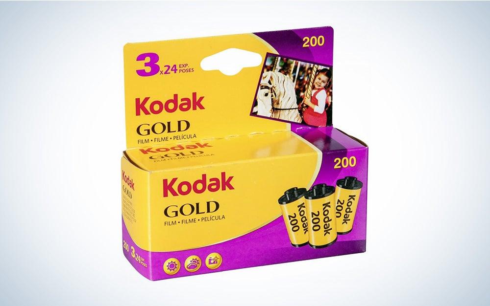 kodak gold color film roll