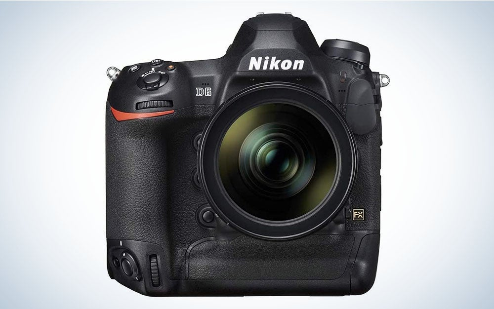 The Nikon D6 is the best Nikon camera for pros.